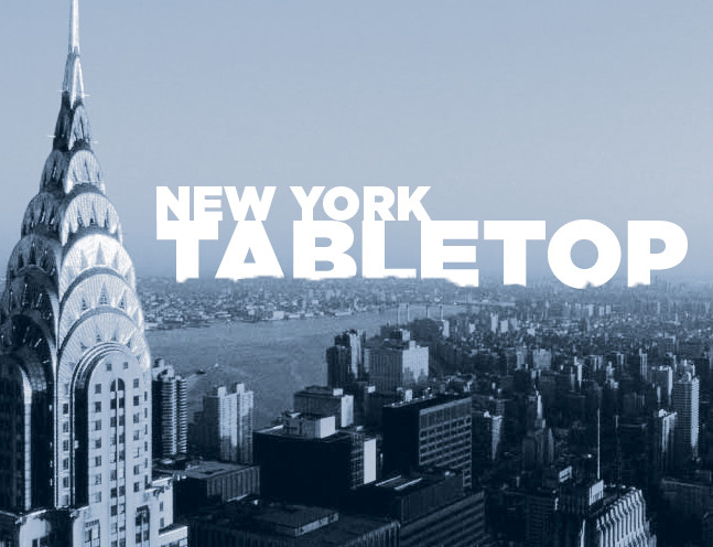 Come see us see us at the NY Tabletop Show!